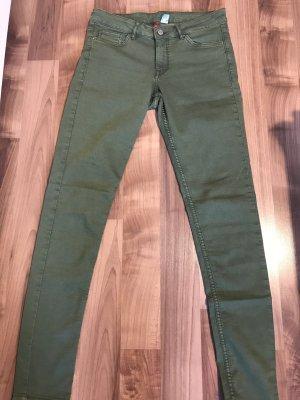 Jeans grün H&M