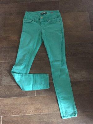 Jeans grün türkis LTB Röhrenjeans Hose Weite 26 mint