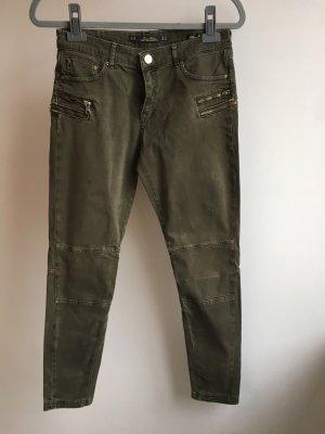 Jeans grün zara