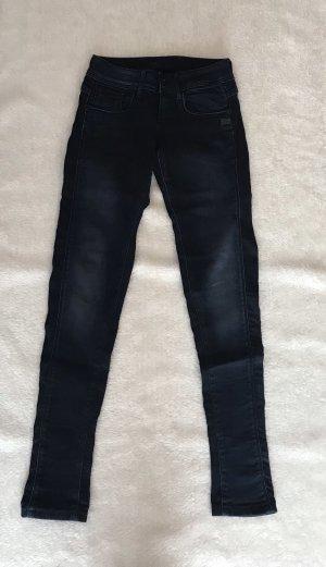 Jeans, Gstar, dunkelblau, skinny, W28 L32