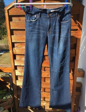 H&M Jeans stretch bleu