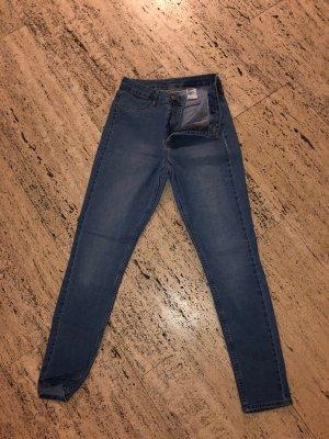 H&M Jeans taille haute multicolore