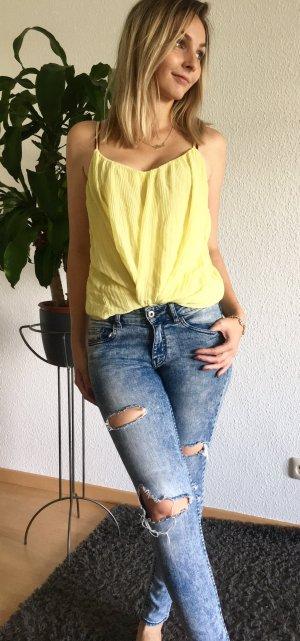 H&M Jeans a sigaretta blu-azzurro