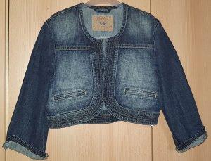Jeans-Halbjacke