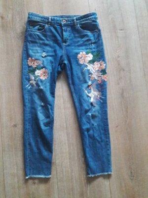 jeans hallhuber gr. 38 druck