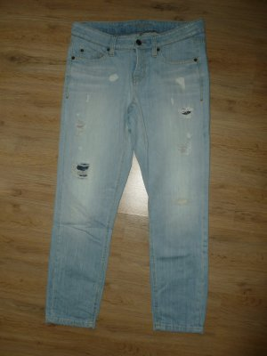 Cambio Pantalone a 7/8 blu neon