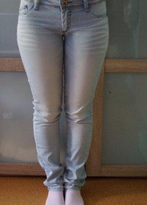 Jeans | Hellblau | Gebleicht | S 36