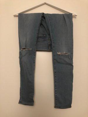 Jeans hellblau Topshop W24 L28 Gr XS