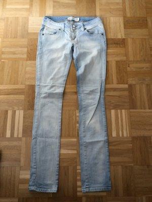 Zara Jeans taille basse bleu clair