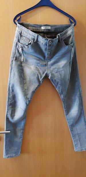 Jeans slim fit grigio chiaro