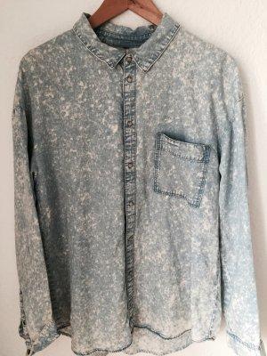 Jeans Hemd Acid Muster