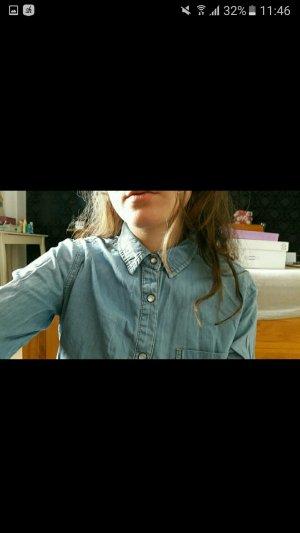 Jeans Hemd Asos hellblau  ♡