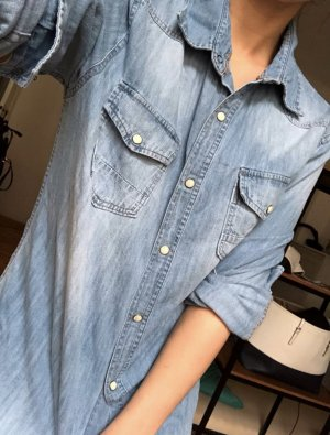 Cordon Denim Shirt steel blue