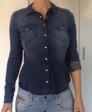 Jeans-Hemd, Größe 38