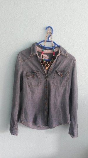 Jeans Hemd H&m Größe 38
