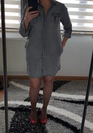Jeans hemd hemdkleid Blusenkleid Langen Ärmel Jeanskleid Gr. M (38) neu Vero Moda 40,- € grau