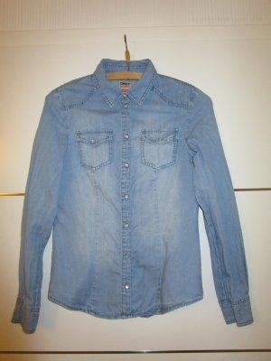 Jeans Hemd von Only mit dezenter Waschung