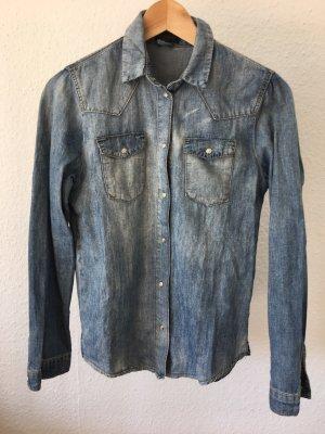 Jeans Hemd von Topshop Gr.36