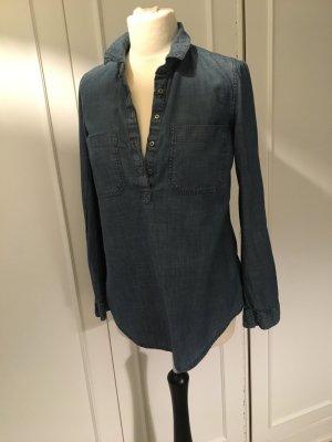 Jeans Hemdbluse