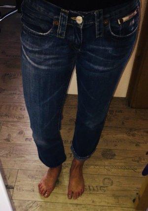 Herrlicher Boyfriend jeans donkerblauw-blauw