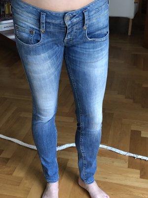Herrlicher Slim jeans azuur
