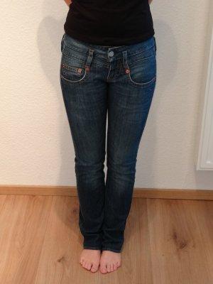 herrlicher straight leg jeans g nstig kaufen second hand. Black Bedroom Furniture Sets. Home Design Ideas