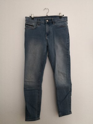 Calvin Klein Jeans Hoge taille jeans azuur