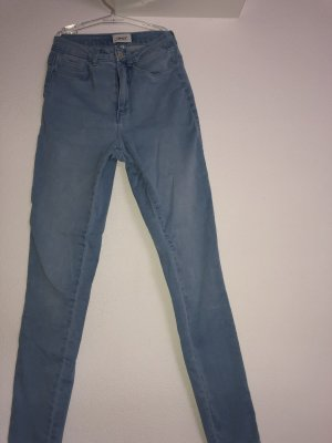 Only Hoge taille jeans azuur