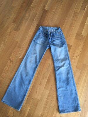 Jeans high waist blau Replay Vintage Gr 27/34