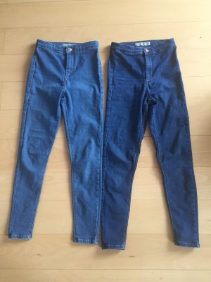 Jeans high waist topshop Joni 2x Größe 28 Länge 30
