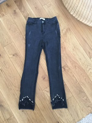 0039 Italy Stretch Jeans multicolored mixture fibre