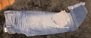 Hollister Jeans 7/8 bleu azur