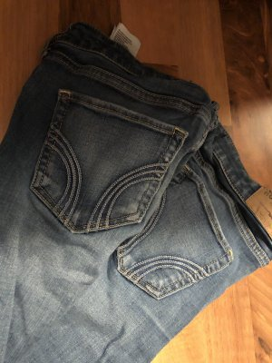 Hollister Low Rise Jeans blue-dark blue