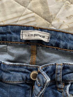 Pimkie Jeans vita bassa blu scuro