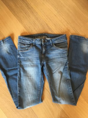 Jeans Hose Basic blau Boot Cut Leg Gr. 38