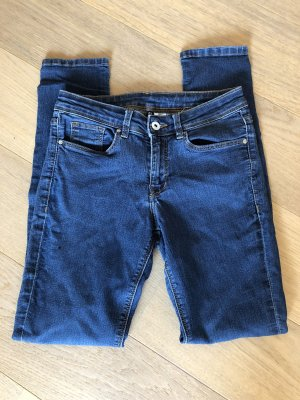 Jeans Hose Basic Denim blau stretch Skinny Gr. 36