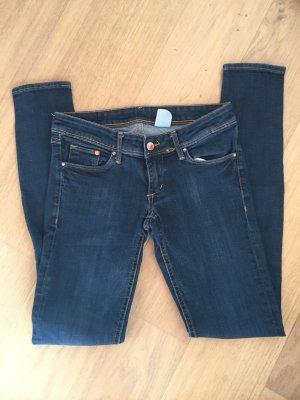 Jeans Hose Basic Super Skinny stretch dunkelblau Gr. 28/34