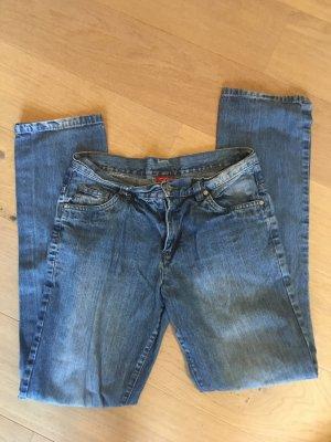 Jeans Hose blau Basic Denim Gr. S