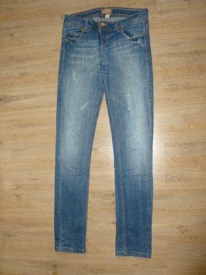 Jeans Hose blau Bershka