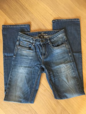 Jeans Hose blau Denim Boot Cut Alexa Gr. 28/34