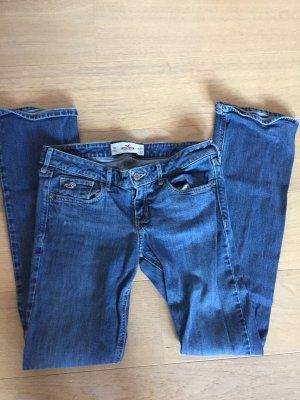 Jeans Hose blau Denim gerades Bein Hollister Gr. W28 L33
