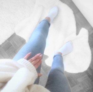 Jeans Hose blau Röhre Skinny