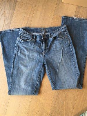 Jeans Hose Bootcut Schlaghose hellblau Denim Esprit Gr. 38