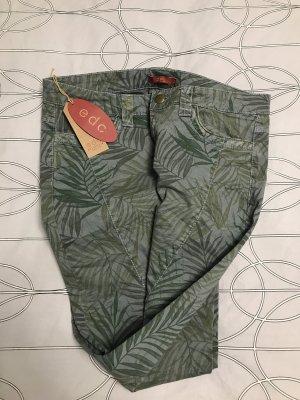 Jeans Hose Damen Edc Esprit grün neu