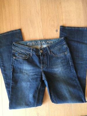Jeans Hose Denim Bootcut blau Gr. 27/32 Esprit
