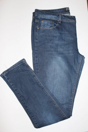 Jeans Hose Denim & Co. 42 Blau Dunkel