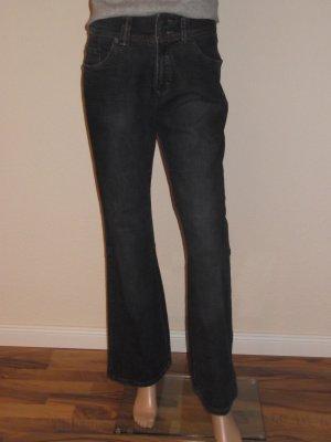 Cecil Jeans a zampa d'elefante blu scuro
