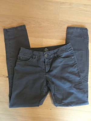 Jeans Hose grau Basic straight slim Gr. 38