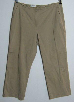 Stretch broek beige