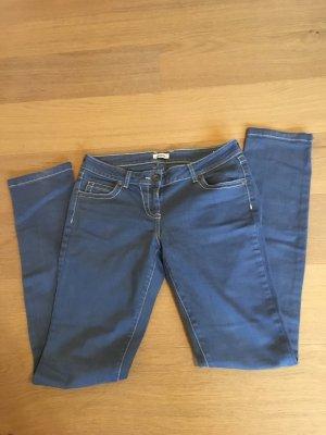 Jeans Hose helblau straight leg Basic Gr. 36 TOP